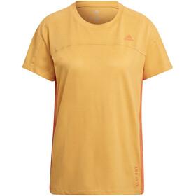 adidas Heat.Rdy SS Tee Women, pomarańczowy